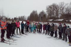 Праздник снега в Шухободской школе.